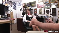 Card dealer cashes in that pussy! - XXX Pawn