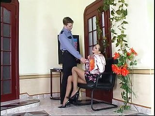 Teen seduced in office free video Horny russian mature seduce police officer - helena