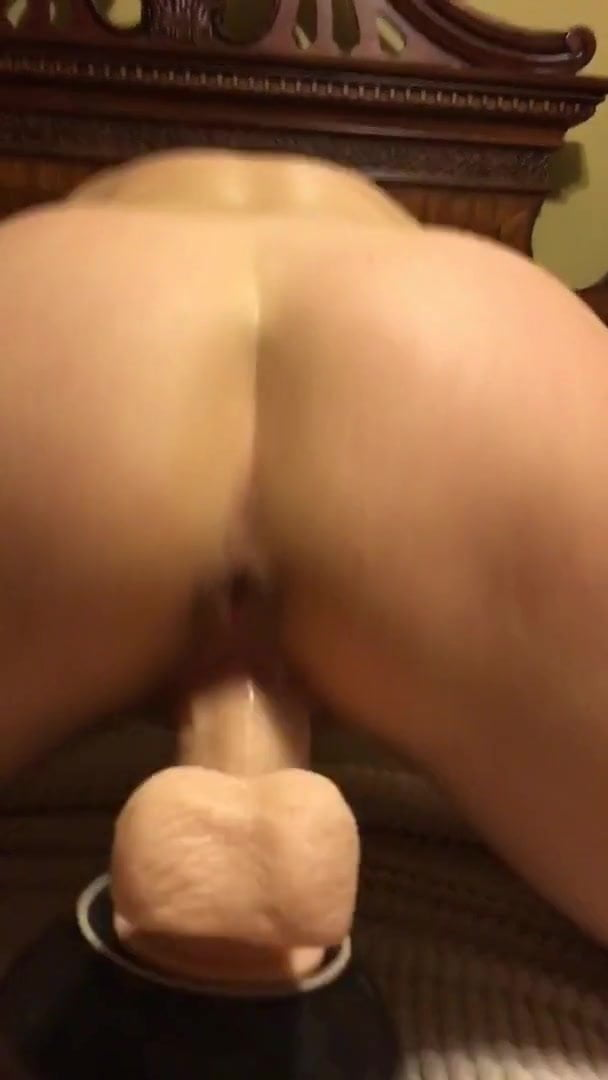 Sucking Cock Riding Dildo