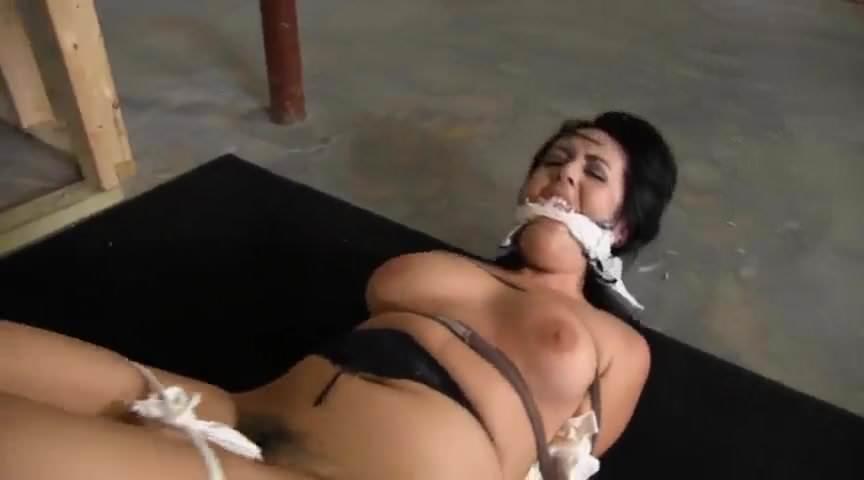 Girl Tied Up Blindfolded