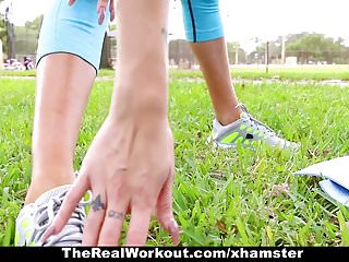 Hot workout girls nude Therealworkout - hot workout teen fucked after session
