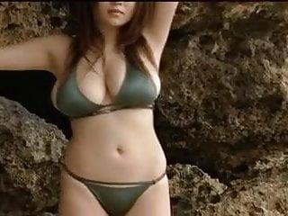 Beach busty girl - Big busty tits japanese girl yoko matsugane