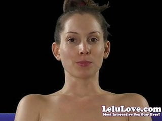 Saliva fetish Lelu love-smelling rubbing spit saliva on face