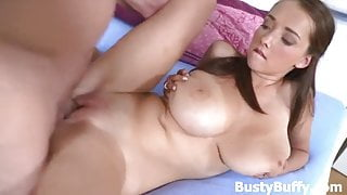 Busty Buffy does crazy things with a cock.
