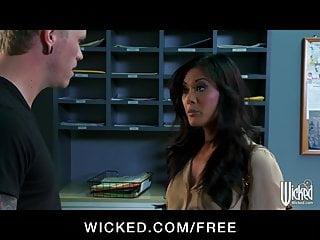 Kaylani facial Wicked - beautiful asian babe kaylani lei rides big-dick