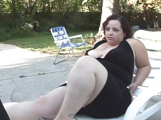 Hard fetish Fat chick gets a hard cock in her jiggly pussy and takes a facial