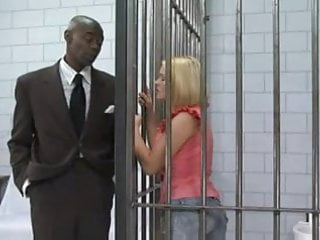 Shemales jail - Blonde hottie jailed then fucked by big cock
