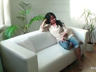 Hidden cams big matures German milf hidden cam fuck in crotchless jeans by young guy