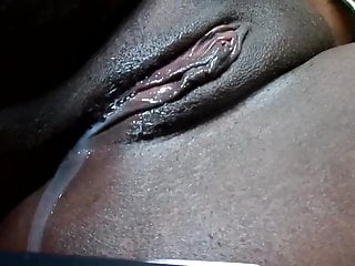 Dripping Wet Black Pussy