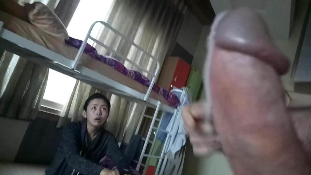 Asian Hairy Pussy White Dick