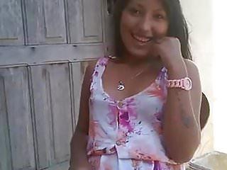 Sexy sun dress sluts - Brazillian girl in sun dress smacks pussy
