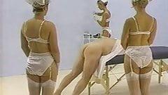 beautiful strapon nurses fuck a lucky dude !