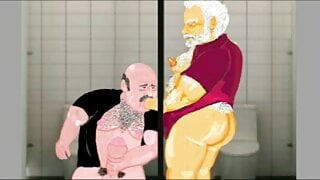 Gaybear: Cruising in public toilets (chapter2 part4)
