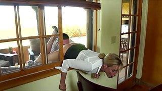 Jodi West Stuck In A Window