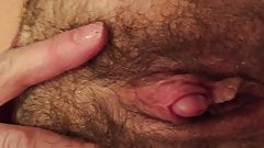 Big clit cumming