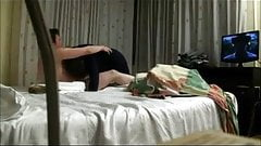 Real hidden camera sex with hotel maid