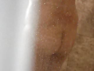 Long dark nipples natural breasts - Asian wife in shower nice dark nipples