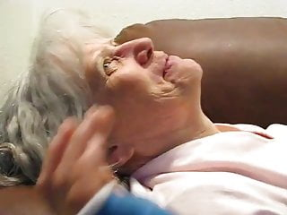 Grey haired sluts Grey haired granny blowjob and cum in her mouth