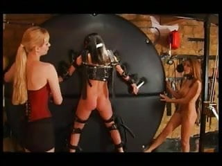 Adult big wheel trikes - Slut inverted on the wheel and gets ass spanked