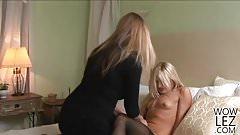 Nicole Moore and Paris Gables Wild Lesbian Fuck