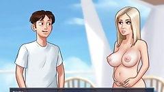 Summertime Saga - Pregnant Iwanka