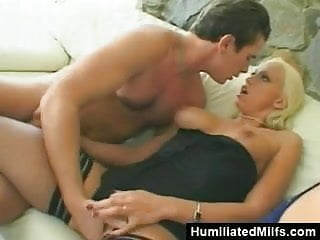 Blonde anal slave Blonde sex slaves assfucked and creamed