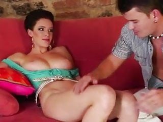 Bouncing tits youtube Beautiful girl with natural bouncing tits get fucked