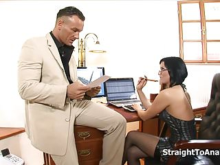 Arosio renata shemale Renata black stubborn secretary anal fucked