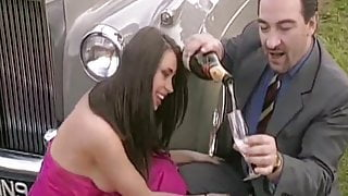 Horny Chauffeur - Outdoor Fuck