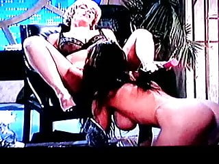 Nasty lesbian mature Blond nasty lesbo anal milf with meaty pussy