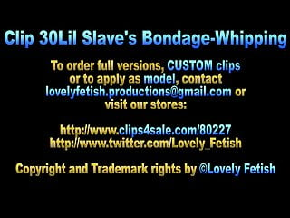 Clip foot job sale Clip 30lil slaves bondage - whipping - sale: 20