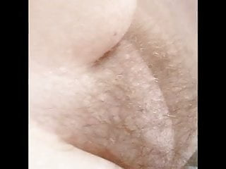 Round mound ass licking - Wifes soft round hairy pussy mound, belly, feet