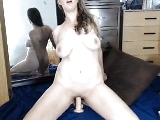 Dd pornstars Milf with natural dd tits fucks self with dildos