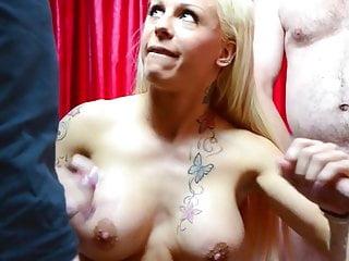 Bukakke cum 2009 jelsoft enterprises ltd Blonde bukakke slut very much cum on her