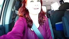 Redhead Teen Cutie Jules Is BBC Fucked In Van By Black Cock!