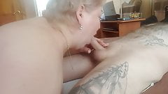 blowjob from mother - in-law at lunchtime 2