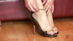 Nylon Feet & Shoe Play - NK29