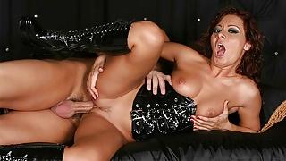 Sandra Romain is having hardcore sex after sucking dick