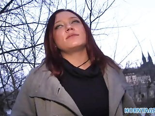 Paid sex videos Hornyagent brunette is paid for sex from a stranger