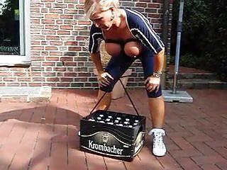 Beer keg tits Please one beer