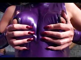 Latex stilettos - Fetish sex in latex lingerie and stilettoes