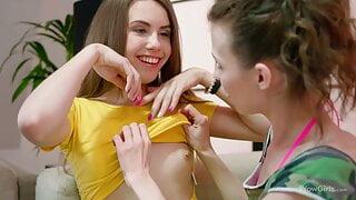 WOWGIRLS 2 Playful Girls Nelya and Elle Rose Like Licking