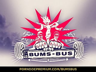 Bang bus porn clips - Bums bus - redhead banged deep doggy style in the backseat