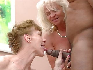 I want his cock Two grannies want his cock