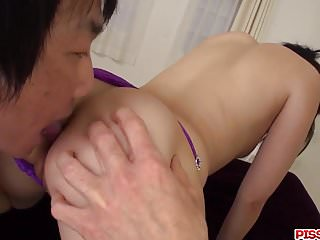 Down shaved there Arisa nakano tries toys down her shaved love holes
