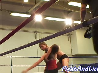 Beautiful women wrestling bondage Busty beauties love wrestling while naked