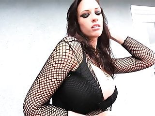 Amazing softcore sex - Wow - amazing boobs in fishnets