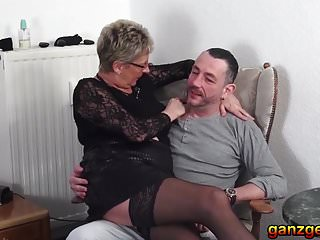 Gallery lust mature - Threesome with lustful german granny