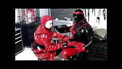 Rubber Pussy Play with Lexi Dark