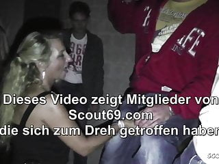 Bi tit teen German milf bi jenny seduce young guy to fuck at party